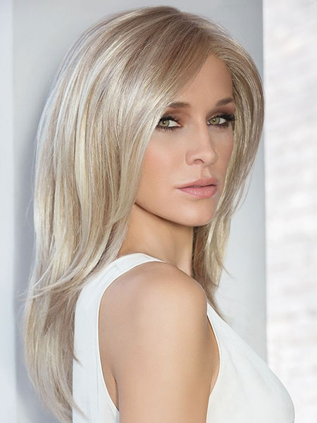 Blonde, Medium, Platinum, Light, Length, Julianne, Hough, Honey