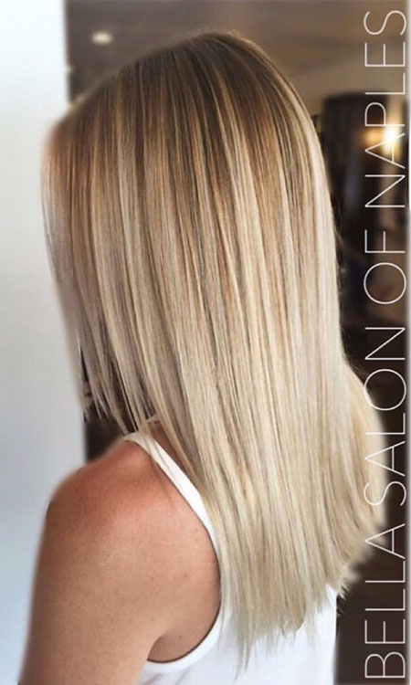 Blonde, Balayage, Highlights