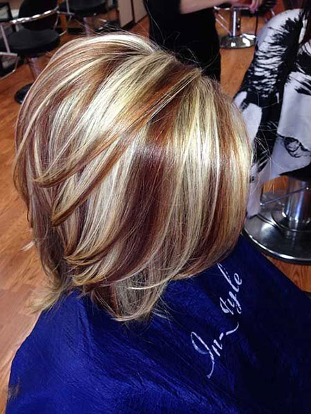 Blonde Hairstyles, Short Hairstyles, Highlights, Young