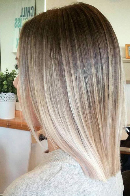 Blonde Hairstyles, Short Hairstyles, Highlights, Balayage, White