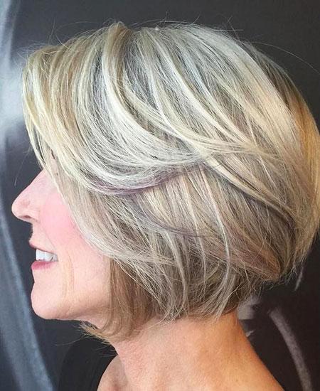 Blonde Hairstyles, Blonde Bob Hairstyles, Balayage, Women