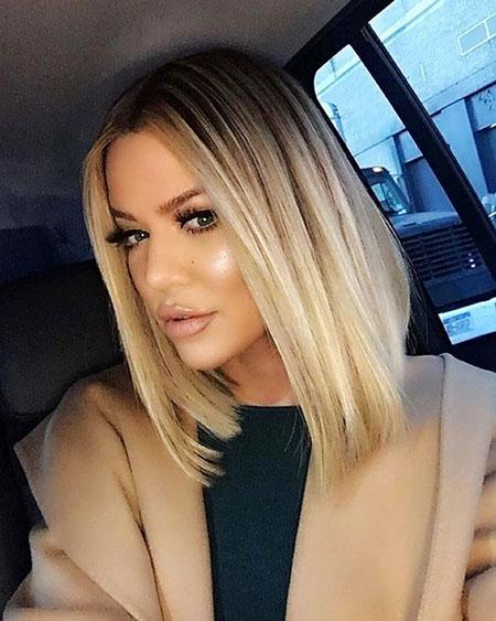 Blonde Hairstyles, Blonde Bob Hairstyles, White, Tone, Long, Kardashian