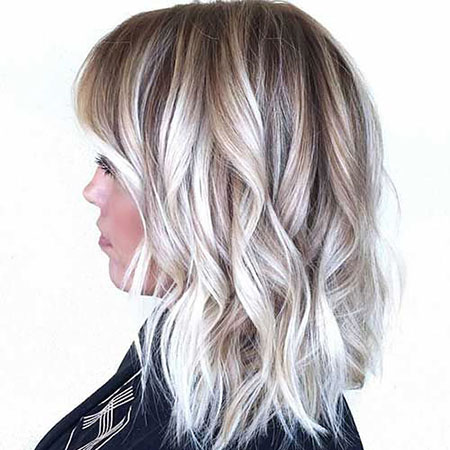 Blonde Hairstyles, Balayage, Short Hairstyles, White, Gray