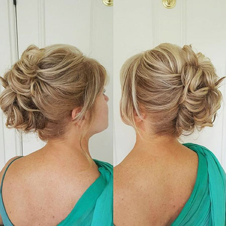Wedding, Updo, Bride, Upstyles, Shorter, Bridesmaid, Brides