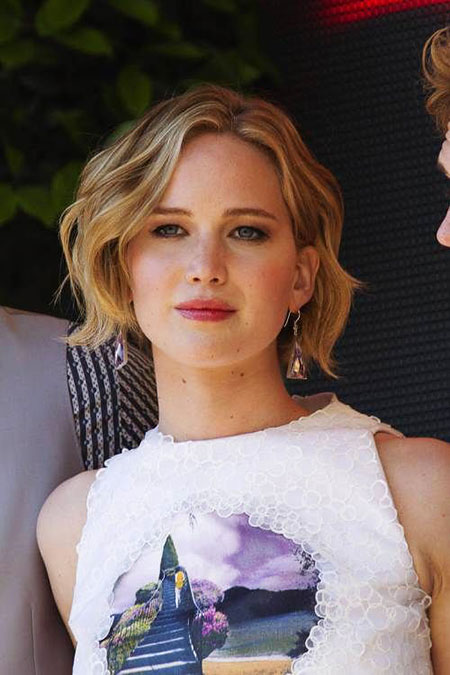 Blonde Bob Hairstyles, Jennifer Lawrence, Jennifer, Stone