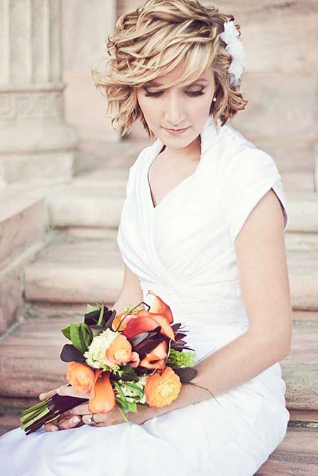 Wedding, Short Hairstyles, Bridal, Some, Photography, Ombre