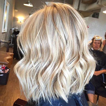 Blonde Hairstyles, Highlights, Balayage, Women, Updo