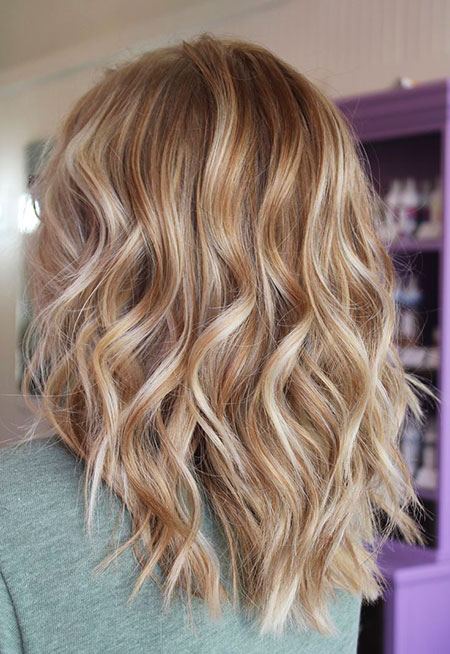 Blonde Hairstyles, Highlights, Balayage, Caramel, Women, Trends