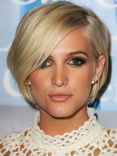 Short Hairstyles, Blonde Bob Hairstyles, Thin, Square, Simpson