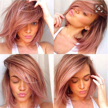 Short Hairstyles, Tones, Rose, Long, Ice, Gold, Blonde Hairstyles