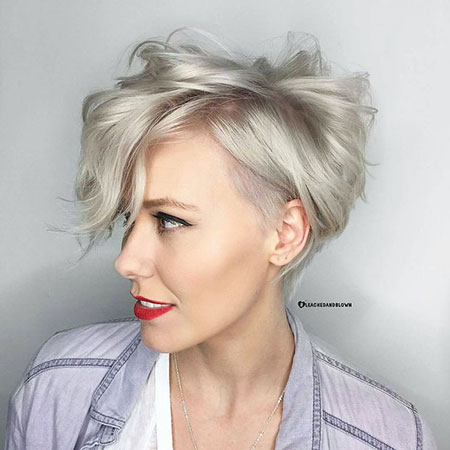 Pixie Cut, Short Hairstyles, Vibrant, Texture, Shades, Modern, Choppy