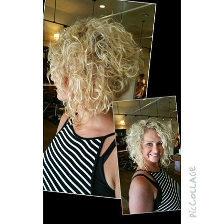 Curly, Short, Inverted, Curls, Bob, Updo, Perm, Medium, Long