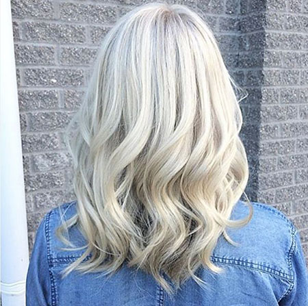 Blonde, Balayage, Waves, Toner, Platinum, All