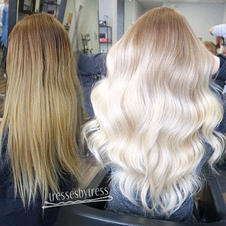 Blonde Balayage Platinum Ombre Pretty Modern