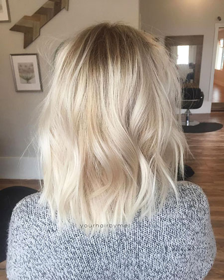 Blonde Hairstyles, Balayage, Short Hairstyles, Platinum, Long