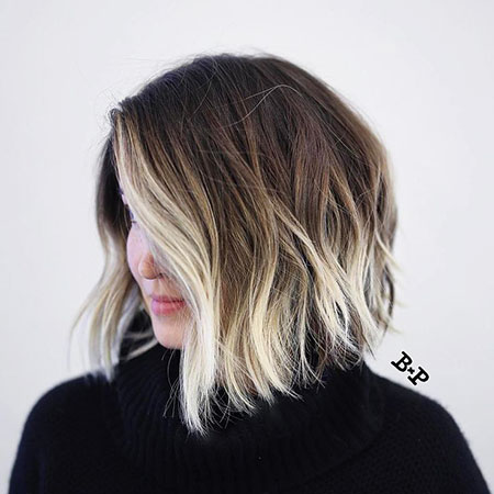 Blonde Bob Hairstyles, Balayage, Blonde Hairstyles, Length