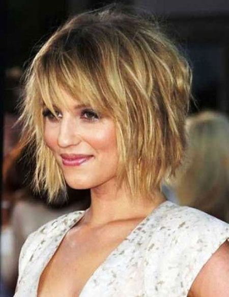 Blonde Bob Hairstyles, Messy, Short Hairstyles, Shaggy, Layered