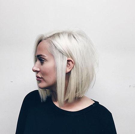 Blonde Hairstyles, Blonde Bob Hairstyles, Short Hairstyles, Women, Wavy
