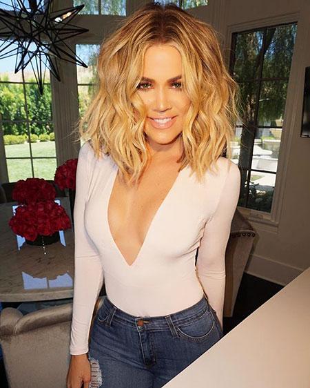 Kardashian, Khloe, Wedding, Very, Short Hairstyles, Khloé