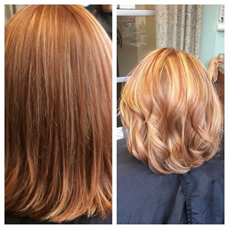 Highlights, Blonde Hairstyles, Copper, Trend, Rock