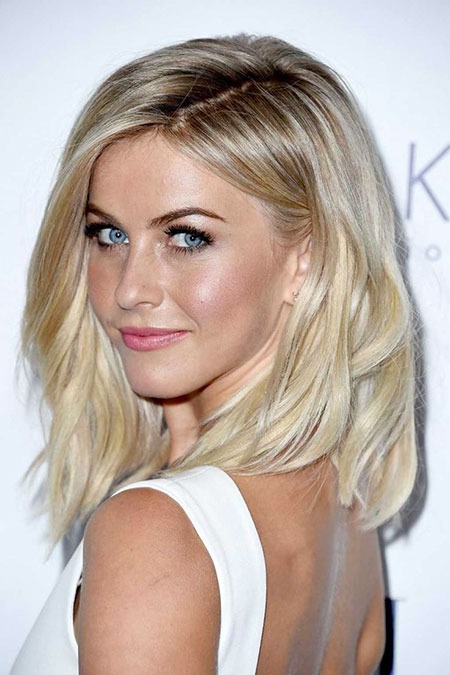 Julianne, Hough, Short, Bob, Medium, Loose, Blonde