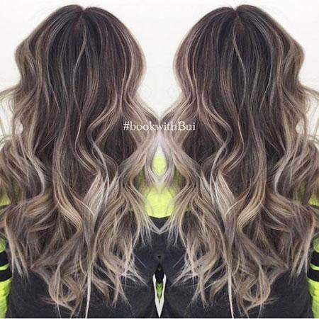 Balayage Blonde Brown Vibrant Trendy Tone Shades