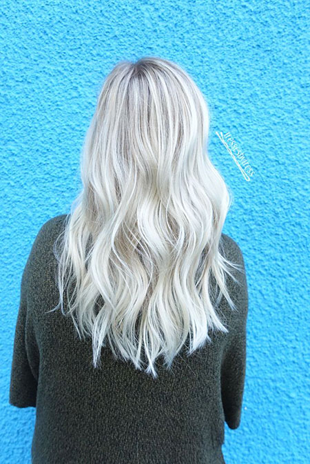 Blonde, Balayage, White, Platinum, İce, Beach, Ash