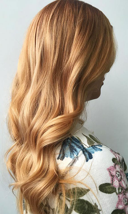 Blonde, Strawberry, Ombre, Highlights, Cute, Colors