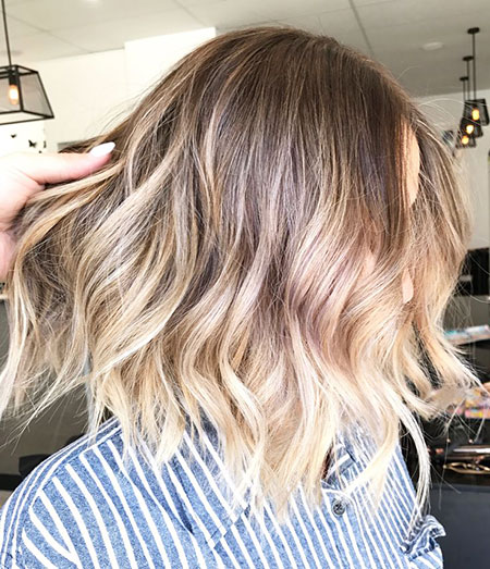 Blonde Hairstyles, Balayage, Ombre, Short Hairstyles, Natural