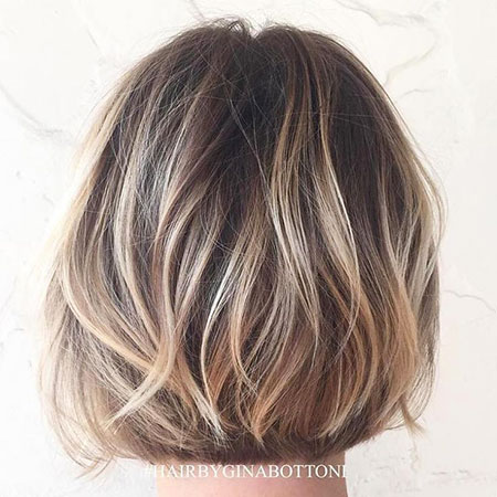 Blonde Bob Hairstyles, Balayage, Brown, Blonde Hairstyles, Women