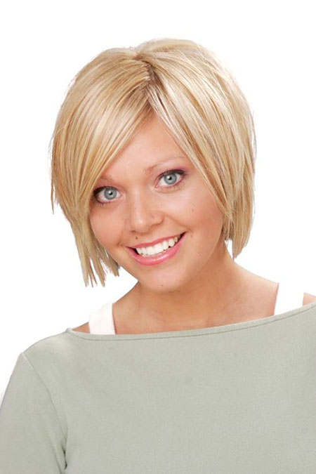 Short Hairstyles, Round, Face, Faces, Cute Hairstyles