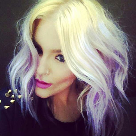 Pastel, Ombre, Blonde Hairstyles, Women, Short Hairstyles, Sassy
