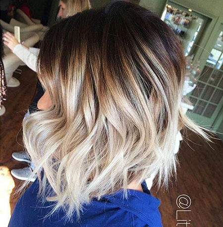 Blonde Hairstyles, Short Hairstyles, Balayage, Updo
