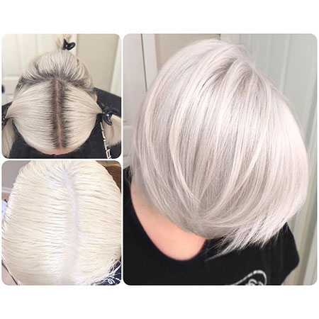 Blonde Bob Hairstyles, Blonde Hairstyles, Silver