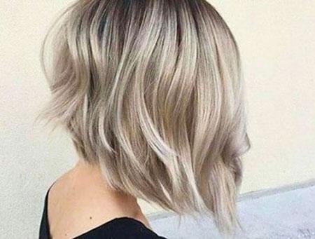 Blonde Hairstyles, Short Hairstyles, Balayage, Women, Wavy