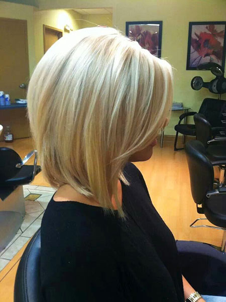 Bob, Blonde, Medium, Long, Highlights, Bobs