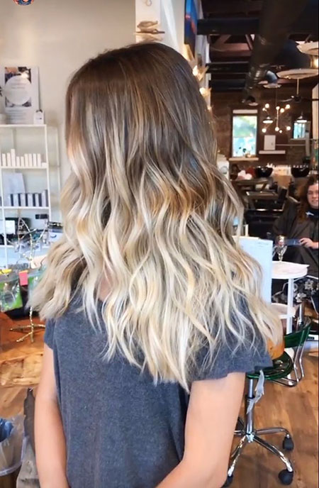 Blonde, Balayage, Ombre, Medium, Fashion, Brown, Beach, Ash