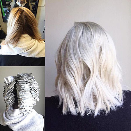 Blonde, Platinum, Balayage, Tone, Pale, One, Habit, Ash