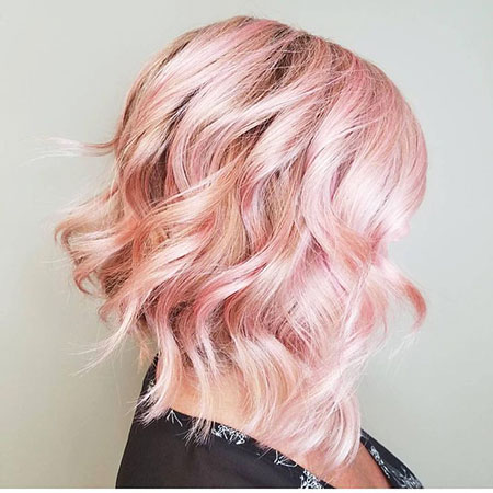 Gold, Rose, Pink, Women, Trends, Shaved, 2017