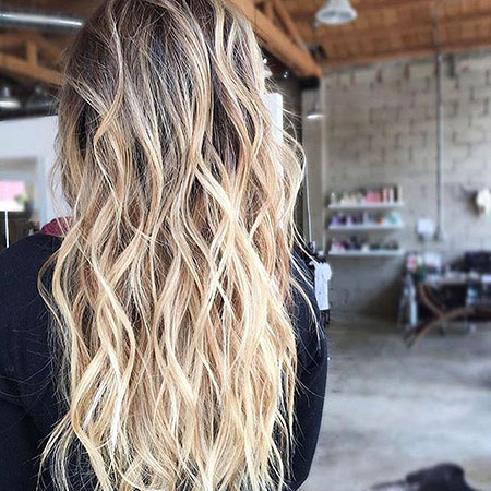 Blonde, Beach, Balayage, Waves, School, Ombre, Beachy