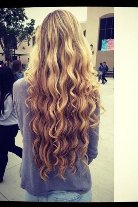 Long, Curls, Blonde, Waves, Really, Ombre, Mermaid, Balayage