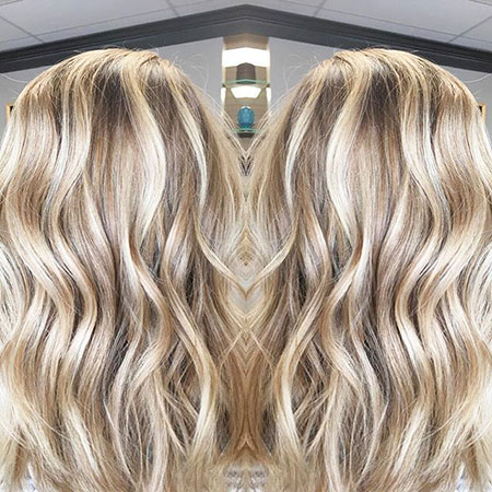Blonde Highlights Balayage Fall