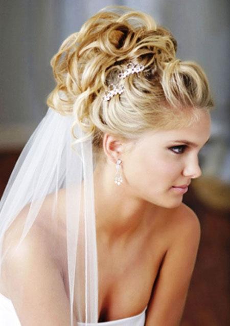 Wedding, Veil, Updo, Updos, Up, Trend, Long, Bridal