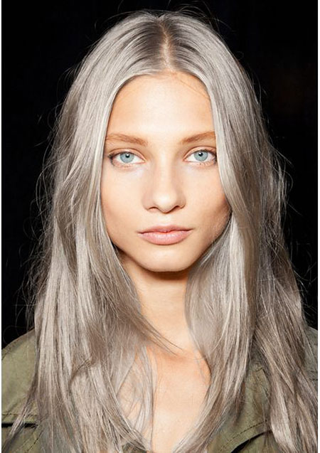 Grey, Blonde, Gray, Spring, Silver, Face, Dye, Behind, Ash, 203