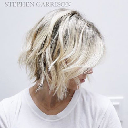 Blonde Hairstyles, Short Hairstyles, Choppy, Balayage, Women, Skin