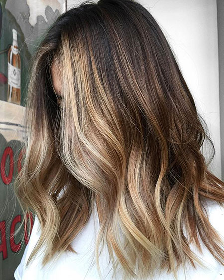Balayage, Blonde Bob Hairstyles, Highlights, Subtle, Small