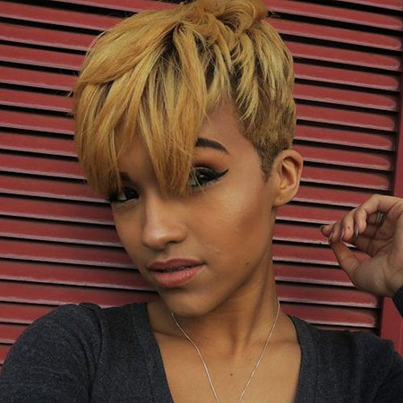 Short Hairstyles, Pixie Cut, Zendaya, Undercut, Shaved, Lowlights