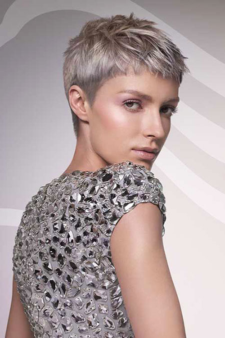 Short Hairstyles, Pixie Cut, Women, Over, Medium, Haircut