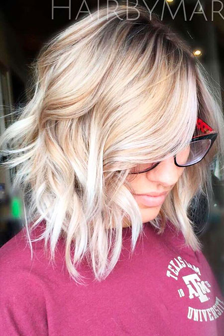 Blonde Hairstyles, Balayage, Short Hairstyles, Shape, Rose