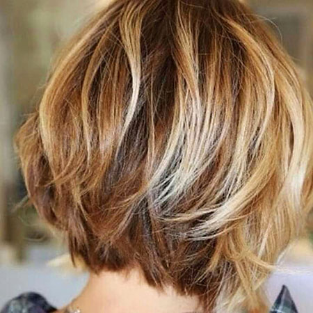 Balayage, Blonde Hairstyles, Short Hairstyles, Shaggy, Highlights